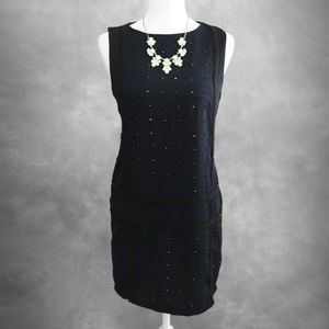 Endless Rose Navy Blue w/ Beads Dress